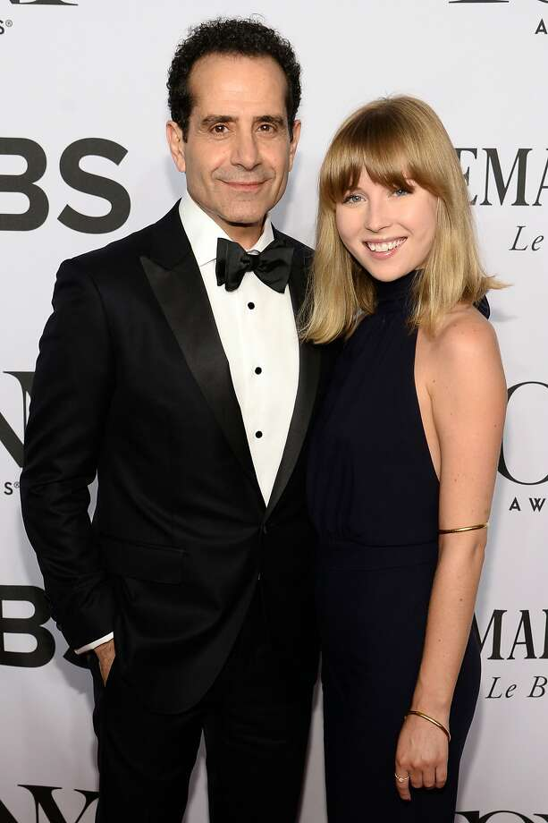 Tony Shalhoub and Josie Lynn Adams attend the 68th Annual Tony Awards at Radio City Music Hall on June 8, 2014 in New York City.  Photo: Dimitrios Kambouris, (Credit Too Long, See Caption)