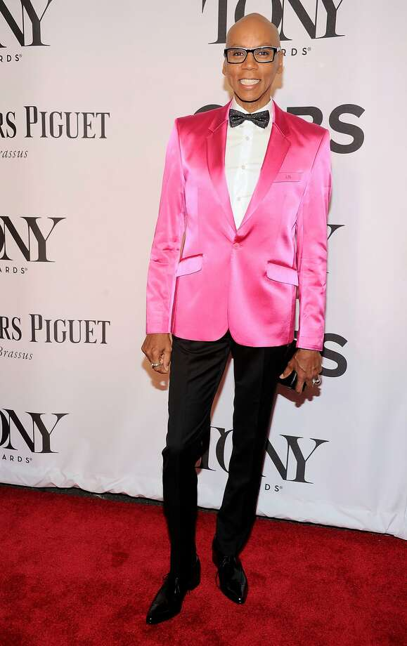RuPaul arrives at the 68th annual Tony Awards at Radio City Music Hall on Sunday, June 8, 2014, in New York. (Photo by Charles Sykes/Invision/AP) Photo: Charles Sykes, Associated Press