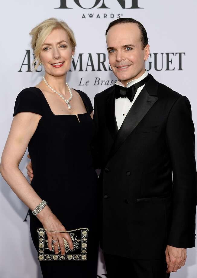Actress Susan Lyons (L) and actor Jefferson Mays attend the 68th Annual Tony Awards at Radio City Music Hall on June 8, 2014 in New York City.  Photo: Dimitrios Kambouris, (Credit Too Long, See Caption)