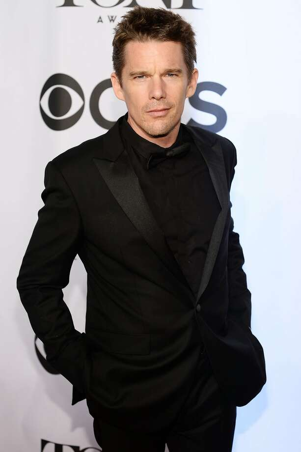 Actor Ethan Hawke attends the 68th Annual Tony Awards at Radio City Music Hall on June 8, 2014 in New York City. Photo: Dimitrios Kambouris, (Credit Too Long, See Caption)