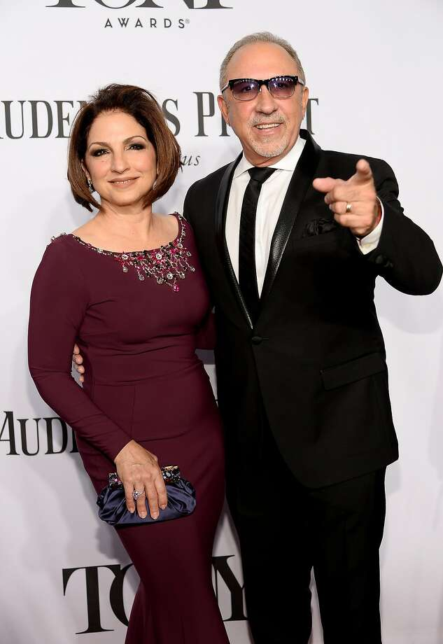 Gloria Estefan and Emilio Estefan attend the 68th Annual Tony Awards at Radio City Music Hall on June 8, 2014 in New York City.  Photo: Dimitrios Kambouris, (Credit Too Long, See Caption)