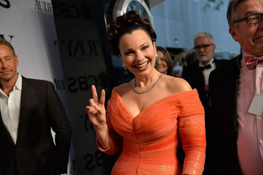 Actress Fran Drescher attends the 68th Annual Tony Awards at Radio City Music Hall on June 8, 2014 in New York City. Photo: Mike Coppola, (Credit Too Long, See Caption)