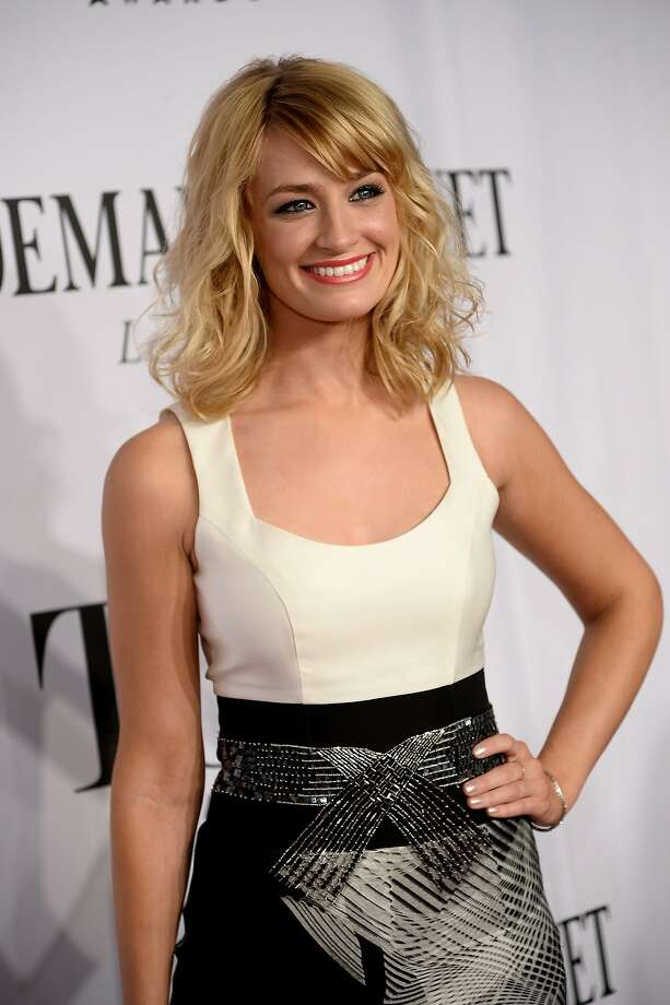 Actress Beth Behrs attends the 68th Annual Tony Awards at Radio City Music Hall on June 8, 2014 in New York City. Photo: Dimitrios Kambouris, (Credit Too Long, See Caption)