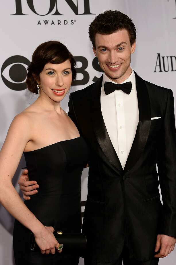 Bryce Pinkham and Emily Young attend the 68th Annual Tony Awards at Radio City Music Hall on June 8, 2014 in New York City. Photo: Dimitrios Kambouris, (Credit Too Long, See Caption)