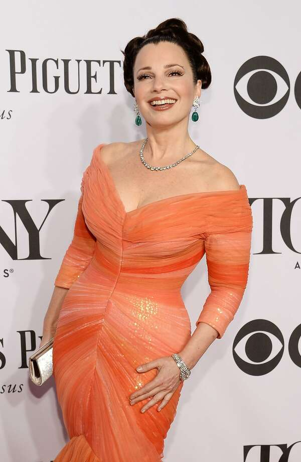 Actress Fran Drescher attends the 68th Annual Tony Awards at Radio City Music Hall on June 8, 2014 in New York City.  Photo: Dimitrios Kambouris, (Credit Too Long, See Caption)