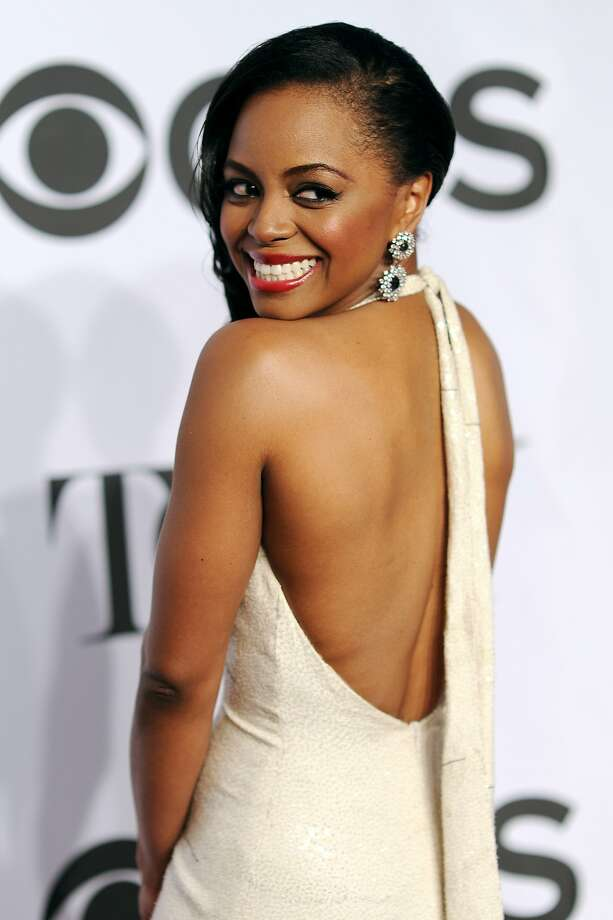 Actress Krystal Joy Brown attends the 68th Annual Tony Awards at Radio City Music Hall on June 8, 2014 in New York City. Photo: Dimitrios Kambouris, (Credit Too Long, See Caption)