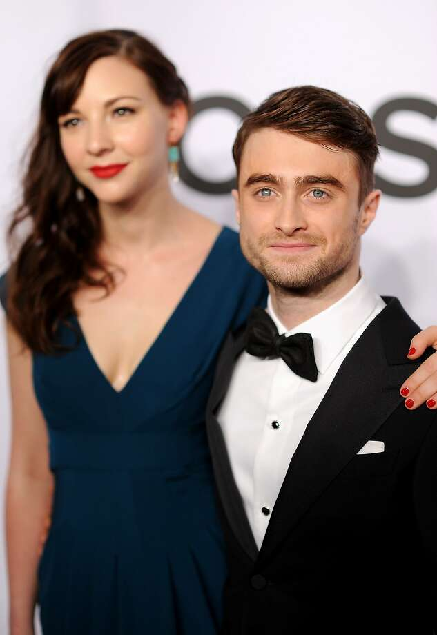 Erin Darke and Daniel Radcliffe attend the 68th Annual Tony Awards at Radio City Music Hall on June 8, 2014 in New York City. Photo: Dimitrios Kambouris, (Credit Too Long, See Caption)