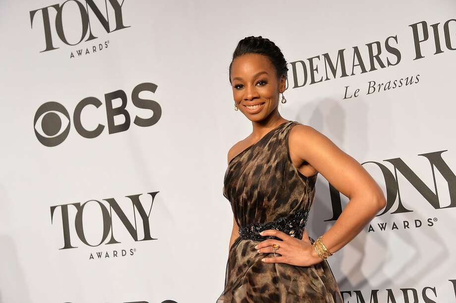 Actress Anika Noni Rose attends the 68th Annual Tony Awards at Radio City Music Hall on June 8, 2014 in New York City.  Photo: Mike Coppola, (Credit Too Long, See Caption)