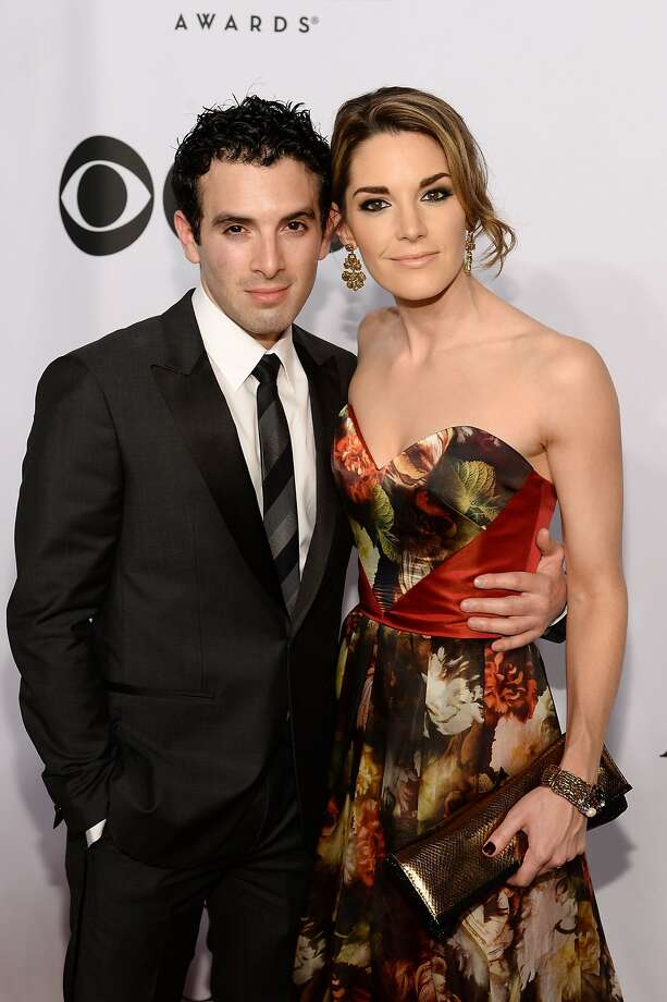 Jarrod Spector and Kelly Barrett attend the 68th Annual Tony Awards at Radio City Music Hall on June 8, 2014 in New York City.  Photo: Dimitrios Kambouris, (Credit Too Long, See Caption)