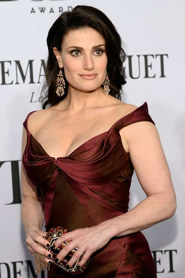 Actress Idina Menzel attends the 68th Annual Tony Awards at Radio City Music Hall on June 8, 2014 in New York City. Photo: Dimitrios Kambouris, (Credit Too Long, See Caption)