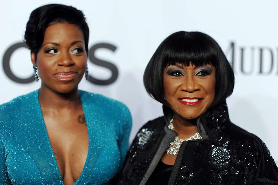 Fantasia Barrino (L) and Patti Labelle attend the 68th Annual Tony Awards at Radio City Music Hall on June 8, 2014 in New York City.  Photo: Dimitrios Kambouris, (Credit Too Long, See Caption)