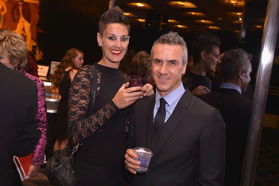 Annalisa Proto (L) and Luc Verschuren attend the 68th Annual Tony Awards at Radio City Music Hall on June 8, 2014 in New York City.  Photo: Stephen Lovekin, (Credit Too Long, See Caption)