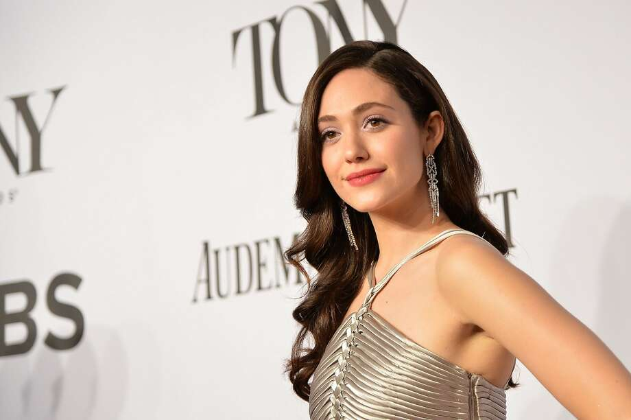 Emmy Rossum attends the 68th Annual Tony Awards at Radio City Music Hall on June 8, 2014 in New York City. Photo: Mike Coppola, (Credit Too Long, See Caption)