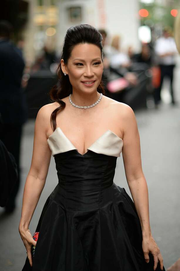 Actress Lucy Liu attends the 68th Annual Tony Awards at Radio City Music Hall on June 8, 2014 in New York City.  Photo: Andrew H. Walker, (Credit Too Long, See Caption)