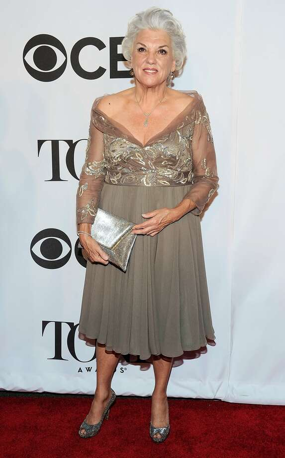 Tyne Daly arrives at the 68th annual Tony Awards at Radio City Music Hall on Sunday, June 8, 2014, in New York. (Photo by Charles Sykes/Invision/AP) Photo: Charles Sykes, Associated Press