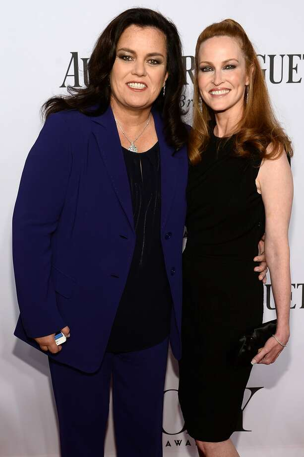 Rosie O'Donnell and Michelle Rounds attend the 68th Annual Tony Awards at Radio City Music Hall on June 8, 2014 in New York City.  Photo: Dimitrios Kambouris, (Credit Too Long, See Caption)