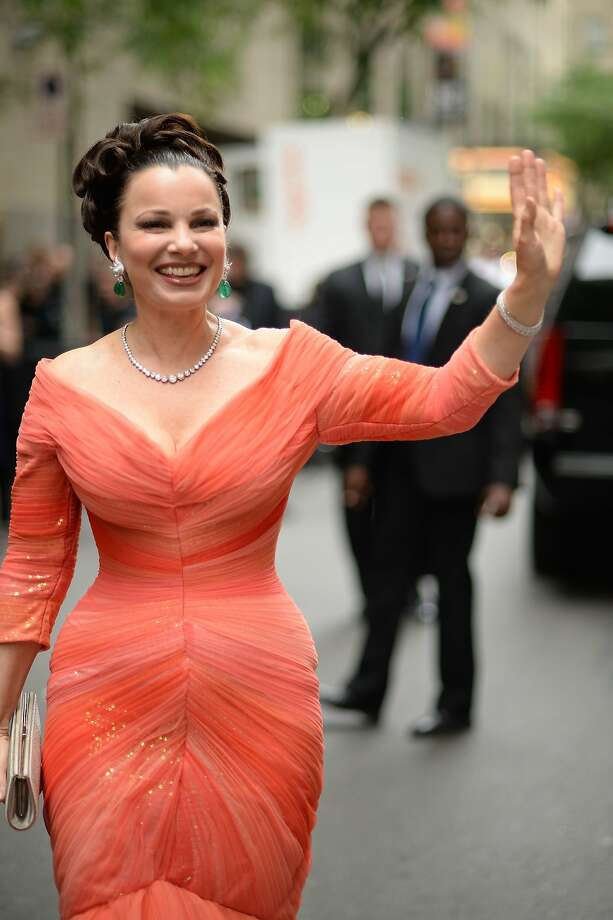 Actress Fran Drescher attends the 68th Annual Tony Awards at Radio City Music Hall on June 8, 2014 in New York City. Photo: Andrew H. Walker, (Credit Too Long, See Caption)