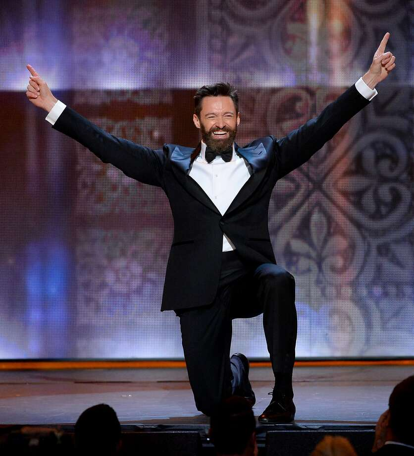 Actor Hugh Jackman speaks onstage during the 68th Annual Tony Awards at Radio City Music Hall on June 8, 2014 in New York City.  Photo: Theo Wargo, (Credit Too Long, See Caption)