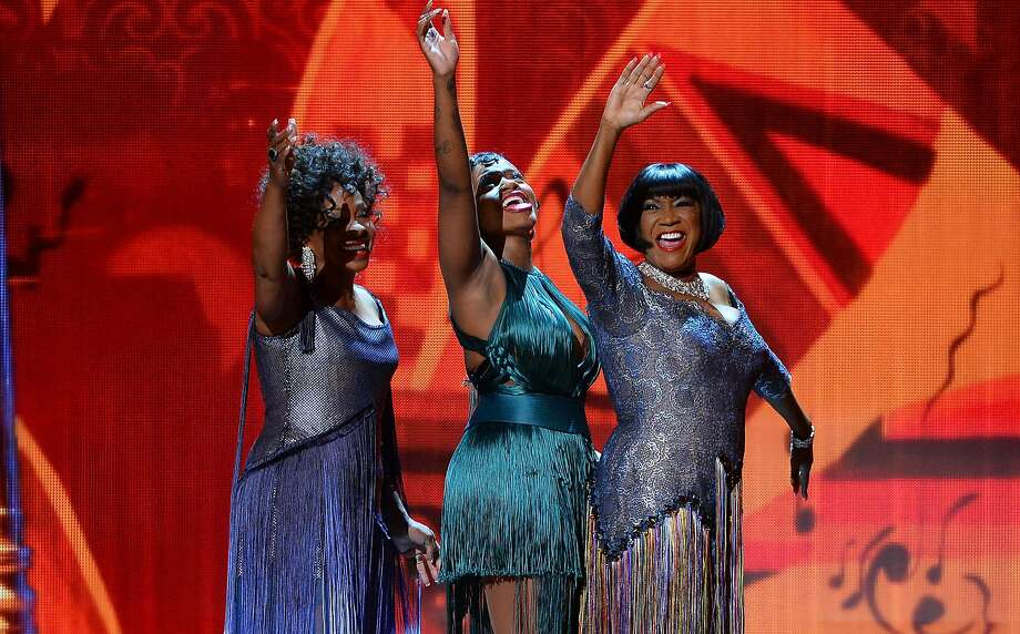 (L-R) Gladys Knight, Fantasia Barrino and Patti Labelle perform onstage during the 68th Annual Tony Awards at Radio City Music Hall on June 8, 2014 in New York City. Photo: Theo Wargo, (Credit Too Long, See Caption)