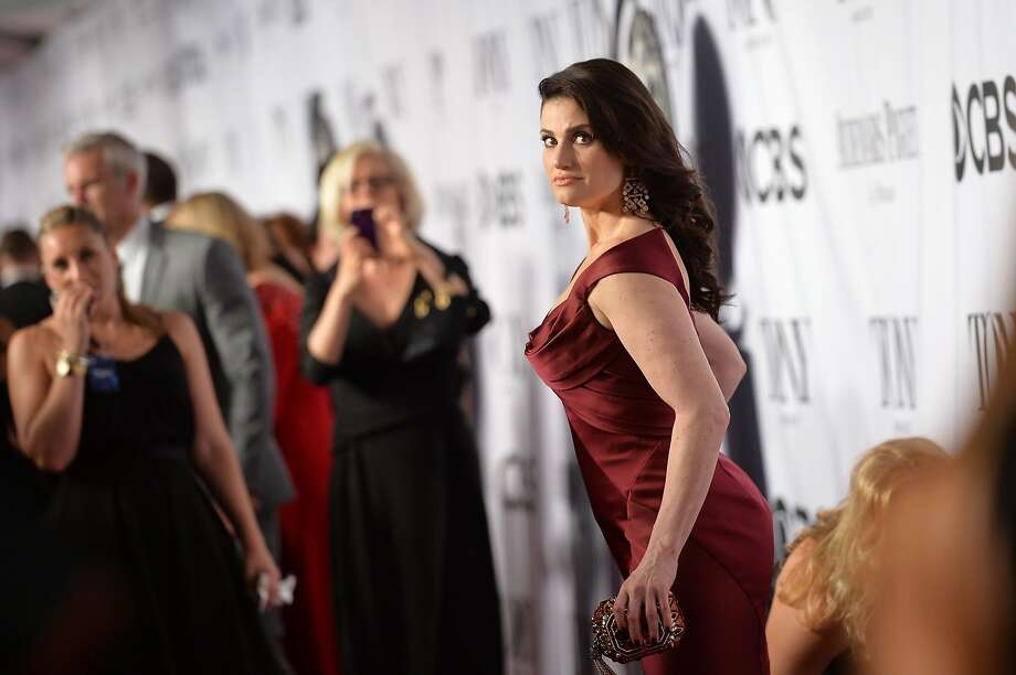 Idina Menzel attends the 68th Annual Tony Awards at Radio City Music Hall on June 8, 2014 in New York City. Photo: Mike Coppola, (Credit Too Long, See Caption)