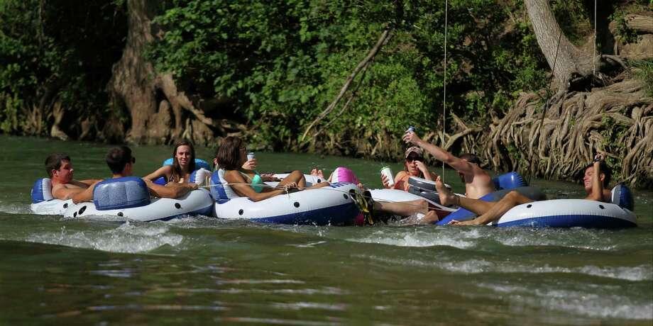 Best places to tube in texas san antonio express news for Places to fish in san antonio