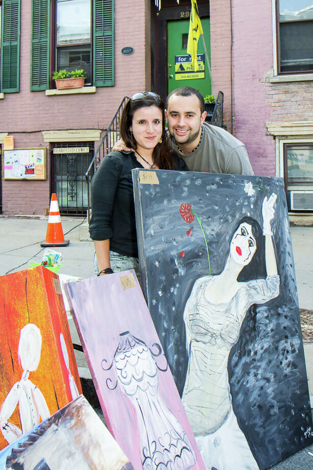 Were You Seen at Art on Lark in Albany on Saturday, June 7, 2014? Photo: Brian Tromans