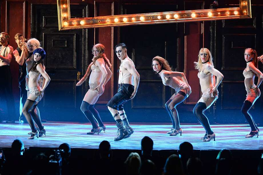 "Alan Cumming and the cast of ""Cabaret"" perform onstage during the 68th Annual Tony Awards at Radio City Music Hall on June 8, 2014 in New York City. Photo: Theo Wargo, (Credit Too Long, See Caption)"