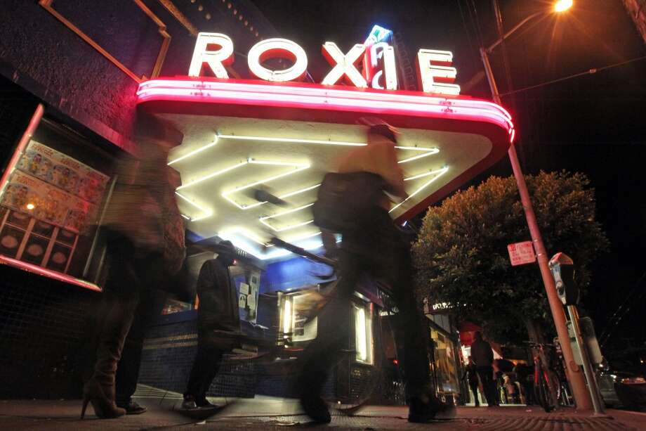 The Roxie, 3117 16th St., the MissionSan Francisco's oldest movie theater (started in 1909) is now a non-profit showing eclectic films in the Big Roxie and Little Roxie auditoriums. Photo: Lance Iversen, The Chronicle