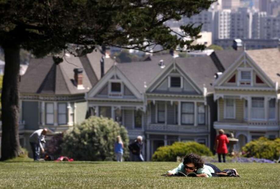 "Alamo Square    Used for the final scene of ""The Five-Year Engagement,"" also in ""Invasion of the Body Snatchers,"" ""Nine Months,"" and ""Murder in the First."" And also in some TV show… Photo: Lacy Atkins, The Chronicle"