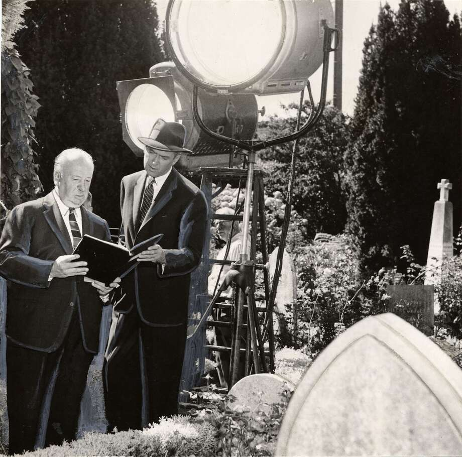 Mission DoloresJimmy Stewart follows Kim Novak through the church and out to the cemetery, where she inspects the grave of Carlotta Valdes. The cemetery is still there but the area where the Valdes headstone would be is paved over. Photo: Courtesy, San Francisco History Center, San Francisco Public Library