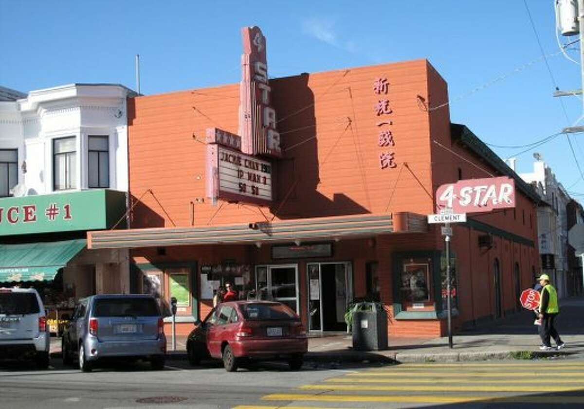 The 4-Star Theatre, 2200 Clement St., Outer Richmond Opened in 1913 as the
