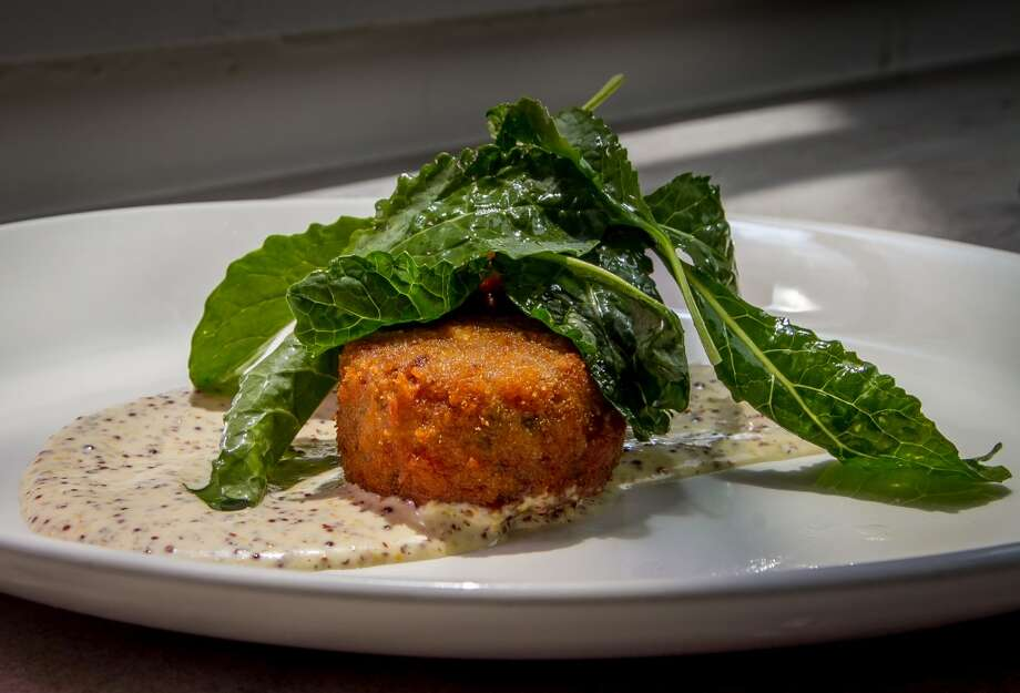 The fried Head Cheese at Trou Normand in San Francisco, Calif., is seen on Monday, June 2nd 2014. Photo: Special To The Chronicle