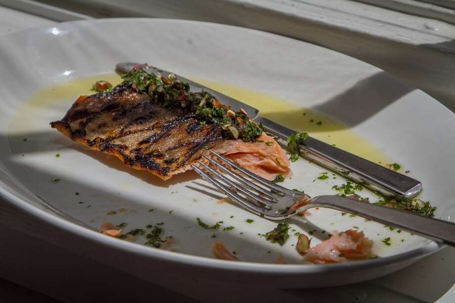 The grilled Trout at Trou Normand in San Francisco, Calif., is seen on Monday, June 2nd 2014. Photo: Special To The Chronicle