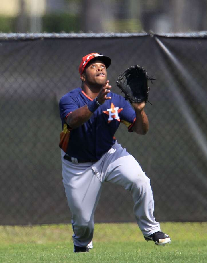 8. Delino DeShields, Jr.  Class AA Corpus Christi  DOB: 08/16/1992  5-9, 210, OF  Baseball America ranking: NR  MLB.com ranking: 6 Photo: Karen Warren, Houston Chronicle