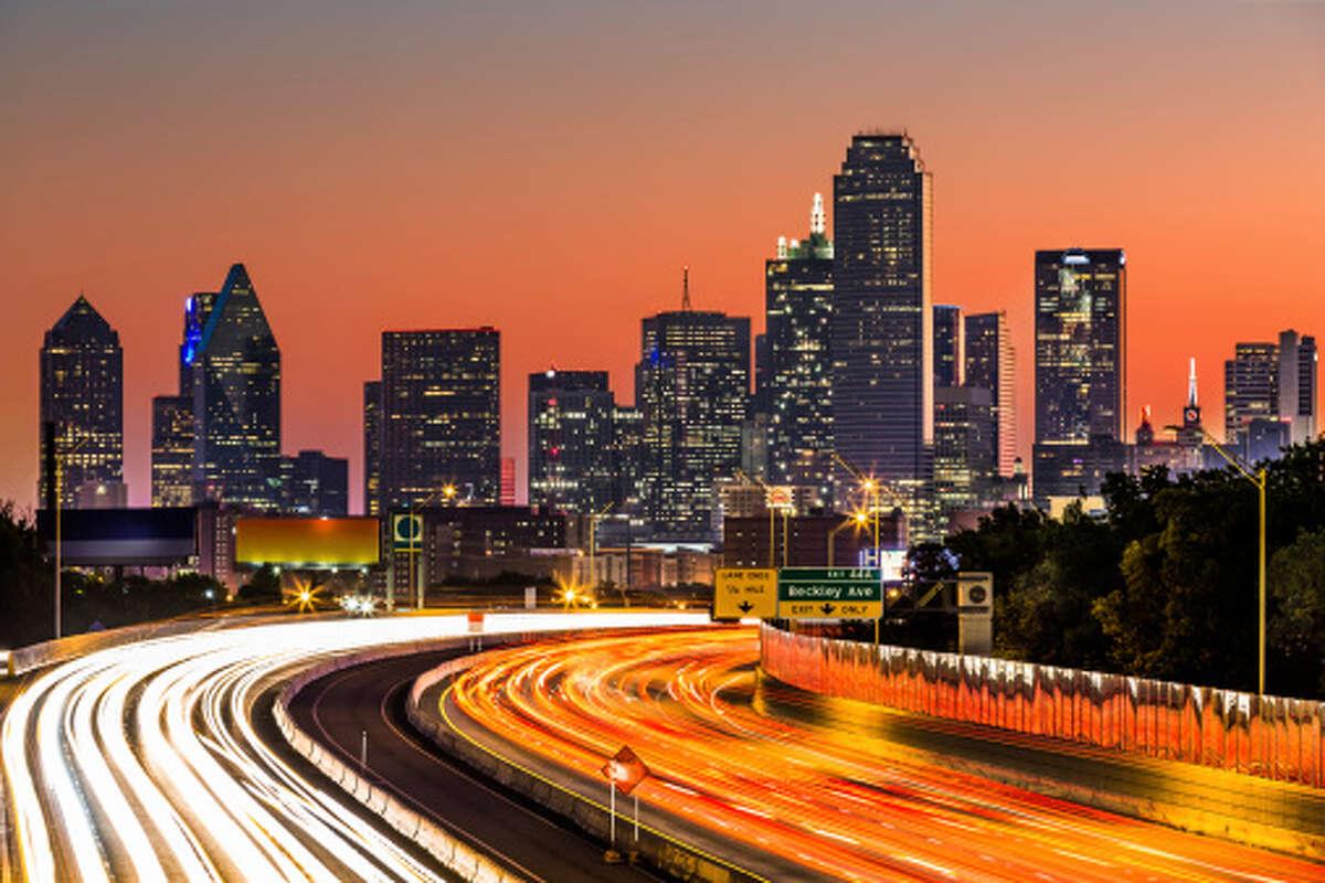 24. Dallas, Texas Indeed score:51.8 Job Market Favorability:22% Salary:49% Work-Life Balance:67% Job Security & Advancement:67% Source:Indeed.com