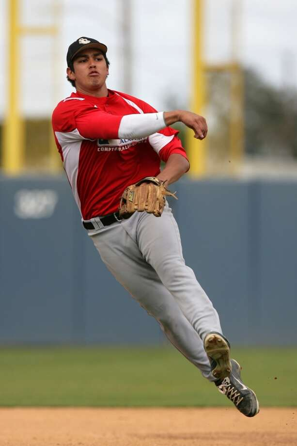 9. Rio Ruiz  Class A Lancaster  DOB: 05/22/1994  6-2, 215, 3B  Baseball America ranking: NR  MLB.com ranking: 10 Photo: Larry Goren, ASSOCIATED PRESS