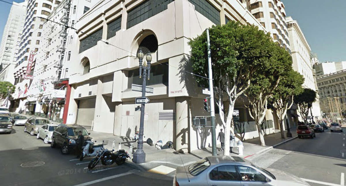 The corner of Eddie and Mason, San Francisco, CA