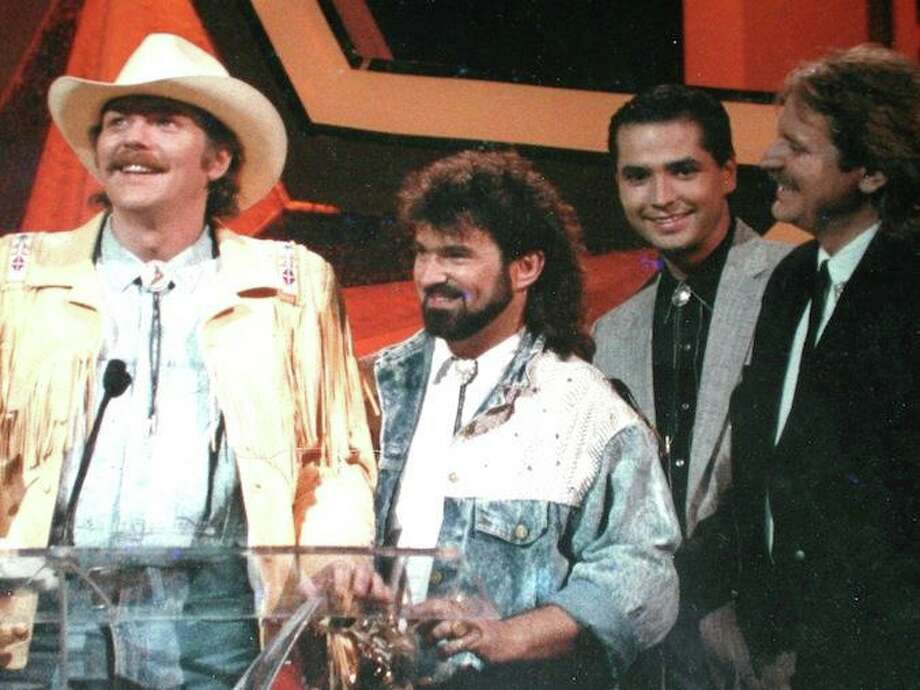 Shenandoah at the TNN Viewer's Choice Awards in Nashville in 1989. Photo: Facebook
