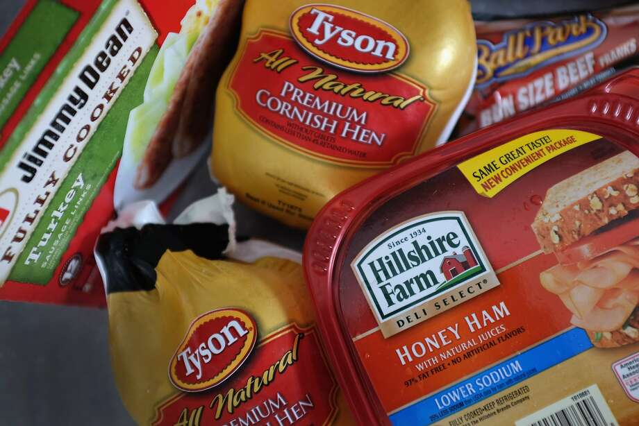 Tyson's deal depends on the termination of Hillshire's offer to buy Pinnacle Foods, which makes Birds Eye vegetables and Wish-Bone salad dressings. Photo: Joe Raedle, Getty Images