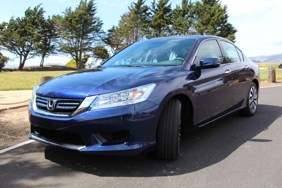 The 2014 Honda Accord hybrid Touring. (All photos by Michael Taylor.)