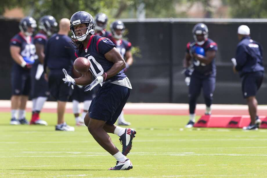 Texans wide receiver DeAndre Hopkins catches a pass. Photo: Brett Coomer, Houston Chronicle