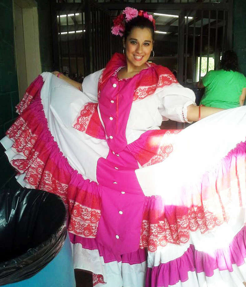 Exchange student Immaculada Amuero, from Spain, was able to take flamenco and folklorico dance classes during her year at Judson High School. Photo: Courtesy / Laura Higgs