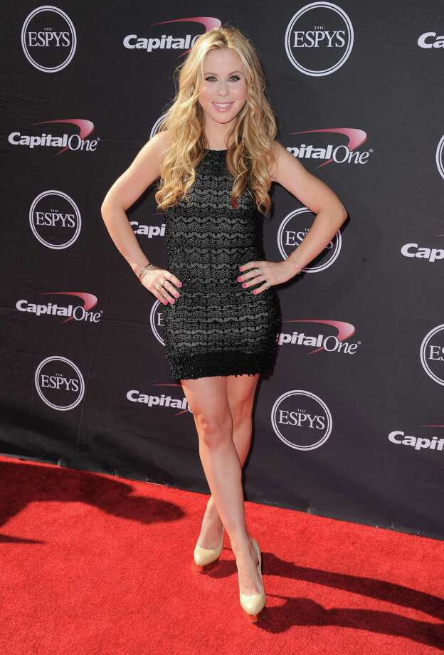 Figure skater Tara Lipinski arrives at the ESPY Awards on Wednesday, July 17, 2013, at Nokia Theater in Los Angeles. (Photo by Jordan Strauss/Invision/AP) ORG XMIT: CAPM176 Photo: Jordan Strauss / Invision
