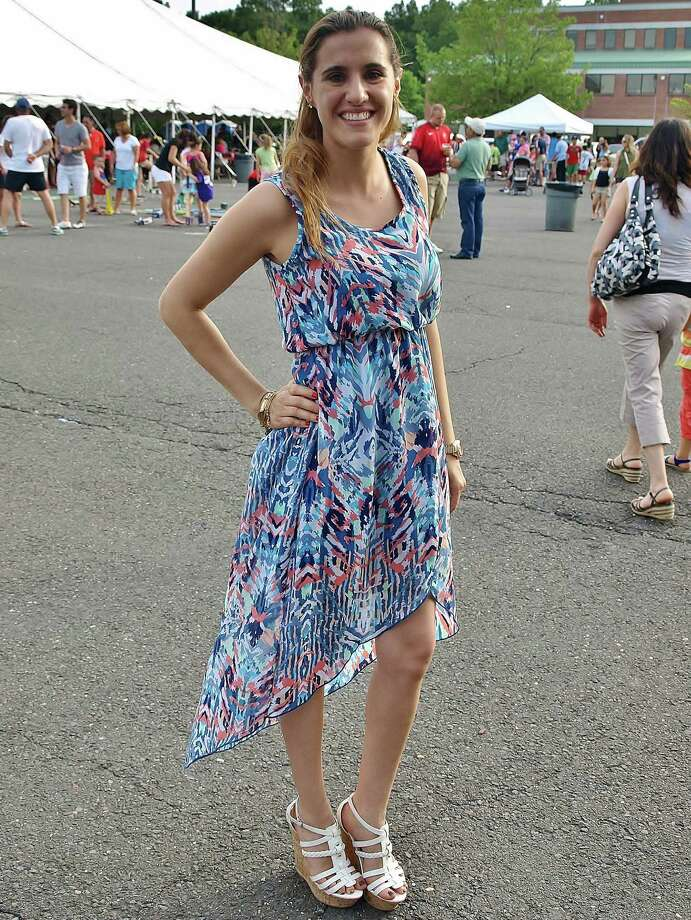 Leticia Moscatelli, of White Plains, N.Y., attended the annual Dia de Portugal (Portugal Day) in Danbury on Sunday, June 7. She wore a maxi dress to keep cool in the heat and fit in with the festive vibe. Photo: Nuria Ryan, Contributed Photo / Stamford Advocate