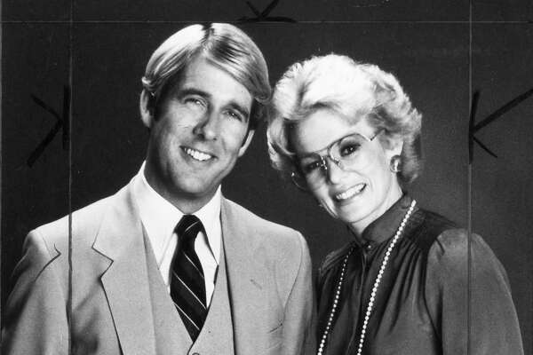 "Ross McGowan and Ann Fraser, hosts of ""People Are Talking,"" in a 1982 handout photo near the beginning of the show's 14-year run."