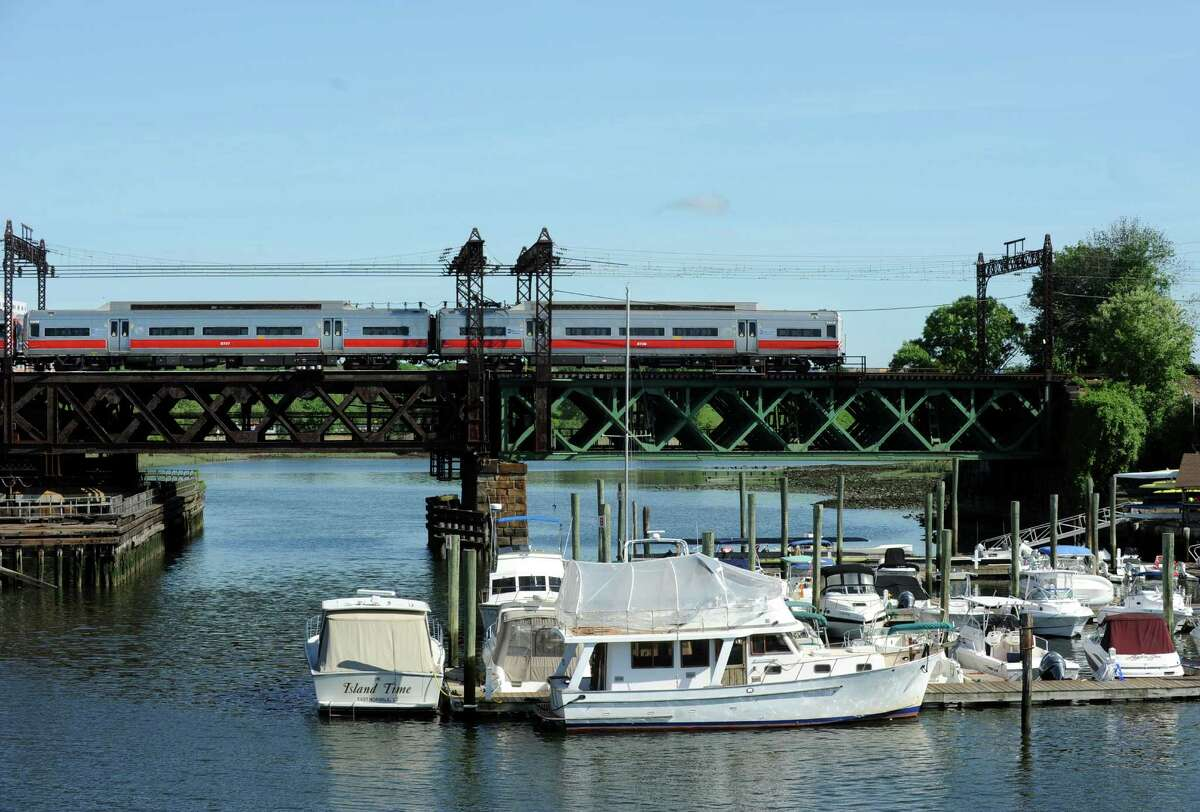 Metro-North service resumed just before 9 a.m. on Thursday, May 29, 2014, after a railroad swing bridge in Norwalk, Conn. became stuck in the open position about 4 a.m., stopping train service in the area and causing major delays on the railroad and on the highways.