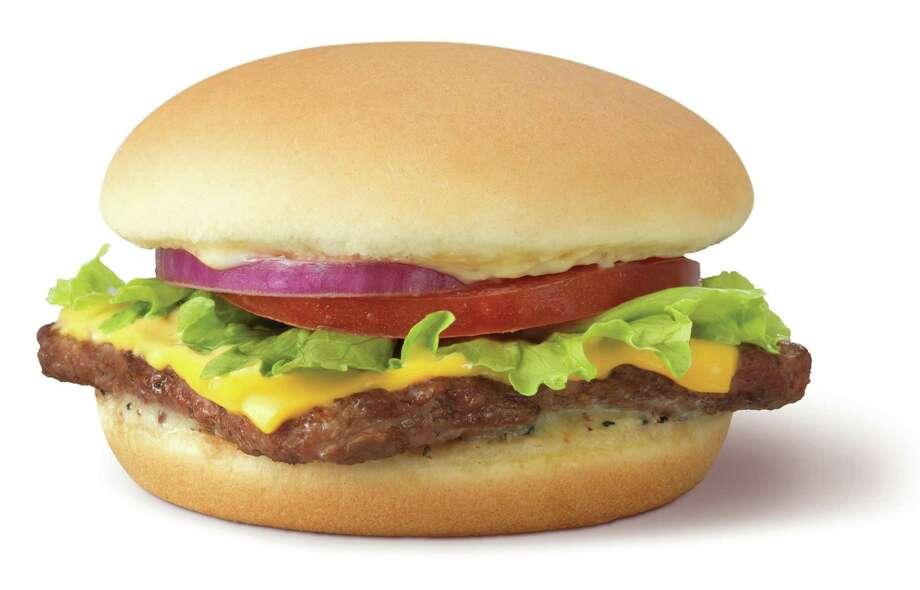 Wendy's Steakhouse Junior Cheeseburger Deluxe