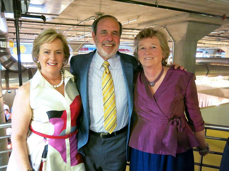 Marie and Barry Lipman (left) with Homeless Prenatal Program founder-director Martha Ryan. Photo: Catherine Bigelow, Special To The Chronicle