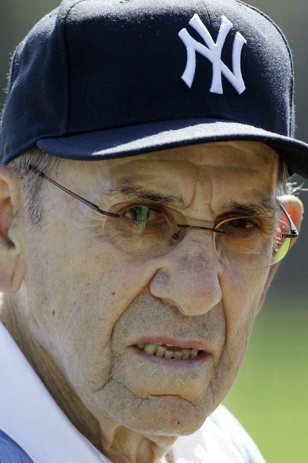 """It ain't over till it's over"" wasn't the only famous saying uttered by Yankees all-time great Yogi Berra. / AP2011"
