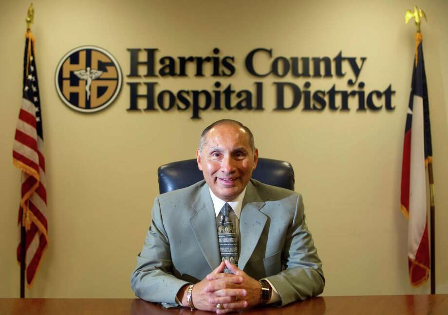 David Lopez, president and CEO of the Harris County Hospital District is seen at the Harris County Hospital District Administration Offices Tuesday, March 20, 2012, in Houston. (Cody Duty / Houston Chronicle) Photo: Cody Duty, Staff / © 2011 Houston Chronicle